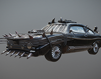 Car for indie game