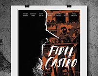 Fidel Castro film afişi tasarımı