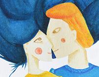 Ilustración del libro Lo que quiere una mujer.