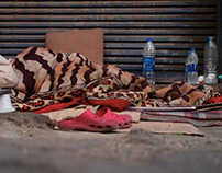Photography - Homeless in the Middle East