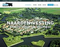 Website voor Het Nederlands Vestingmuseum