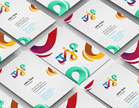 IT company logo and business cards