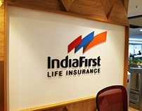IndiaFirst Life Insurance - Spatial Branding