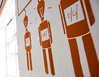 Digital Glue Mural