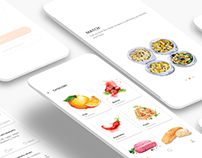 UX/UI Design of Free Cooky app