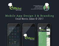 Cooklist Mobile App Design & Brading 3