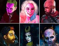 Suicide Squad- Portraits