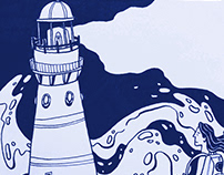 """Lighthouse"" comic"