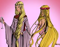 Elfos Quendill - Salavar RPG