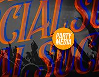 Social Media - Festas/Party