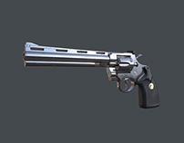 "Colt Python .357 Revolver w/ 8"" Barrell"