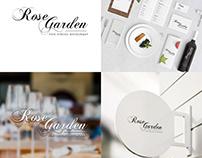 Logo Design - Rose Garden Fine Dining Restaurant
