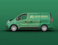 Acar Orman   Branding + Mockups