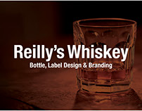 Reilly's Whiskey, Bottle, Label Design & Branding