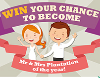 Plantation Island Wedding Competition