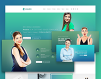 Anubis - Creative PSD Template | themeforest.net
