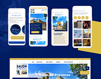 Design interface website