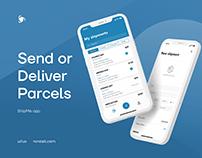ShipMe - Shipping Service App | UI/UX