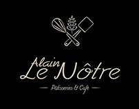 Alain Le Nôtre - Rebranding