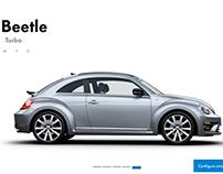 Volkswagen Configurator - Study case.