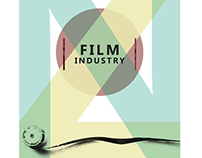 New Zealand Film Industry Print Design