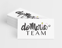 DeMaria Team / Real Estate Agent | Logo Design