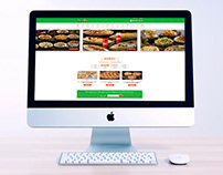 Pizza Fan Website UI UX & Redesign
