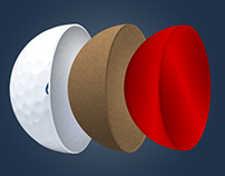 Cut Golf - Ball Animation