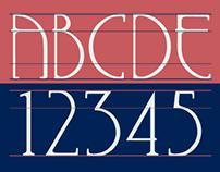 FIFTIES; font