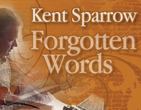 Kent Sparrow Forgotten Words CD graphics