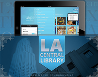 LA Central Library Book Browsing App for IOS (Concept)