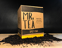 Mr. Tea Packaging Design