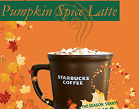 Starbucks Pumpkin Spice Latte Project