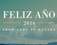 FELIZ AÑO 2016 Poster