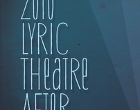2010 Lyric Theatre After Party Posters
