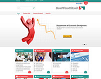 Department of Economic Develpment Portal