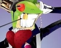 Classy frog