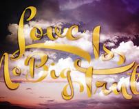 El amor no es la gran verdad!