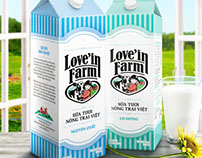 Love'in Farm Milk