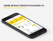 Adobe XD Daily Creative Challenge #01