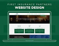 Website Design - First Insurance Partners