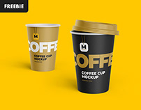 Free Download: Tea and Coffee Cup Mockup