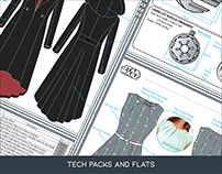 Techpacks and Flats