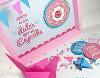 Tu amor es mas dulce que un cupcake
