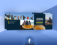Professional Facebook Timeline Cover Template