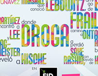 Typographic Poster for Design Festival-FID2012