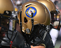 UCF Knights Military Appreciation Helmet Design