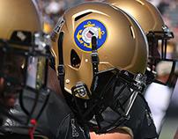 UCF Knights Military Appreciation Helmet Design