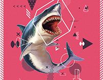 Modern geometric with Animals