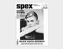 SPEX No. 367 – MAGAZINE FOR POP CULTURE